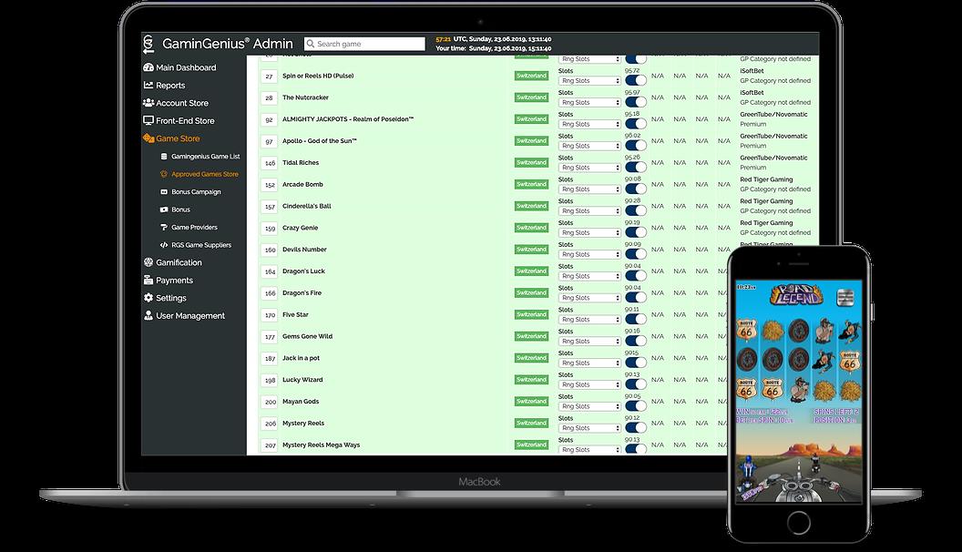 iGaming content aggregation platform